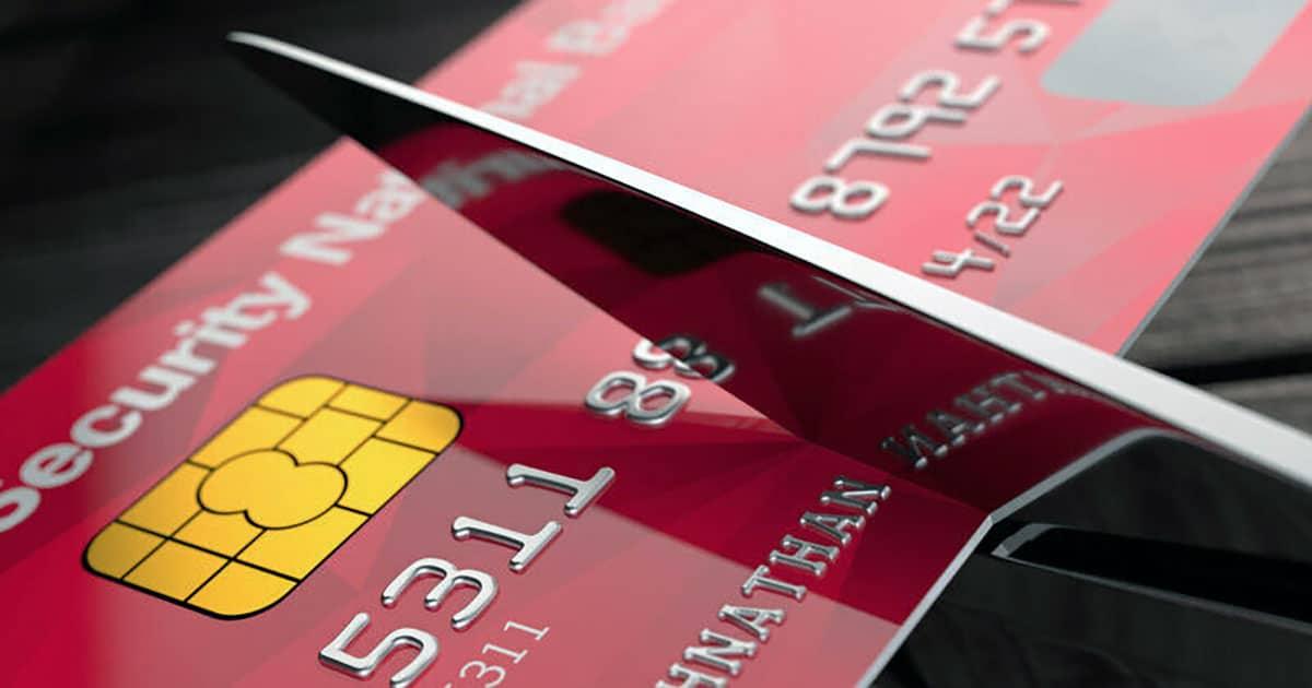 Goodbye to credit card debt