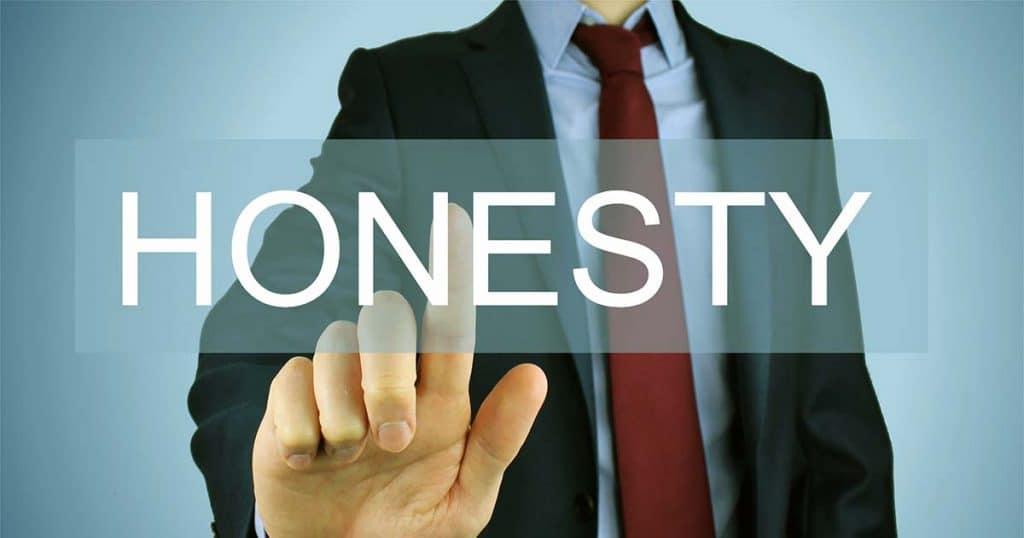 Honesty in leadership