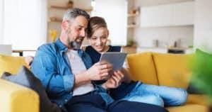 Timtab parenting plan app